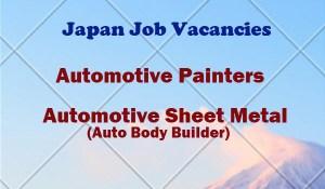 Japan-Job-Hiring-for-Automotive-Painters-Automotive-Body-Builder.