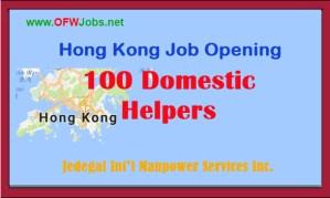 100-Domestic-Helper-Job-Opening-Hong-Kong