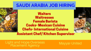 Saudi-Arabia-Job-Hiring-Chefs-Cooks-Waitress-Waiters-Female-Barista