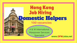 Domestic-Helpers-Job-Hiring-Hong-Kong