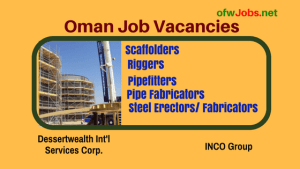 Oman-job-opening-for-pipefitters-and-other-construction-workers