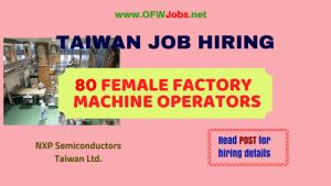 taiwan-job-opening-female-machine-operators