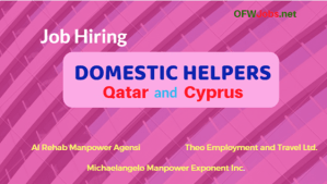 Domestic-Helper-job-hiring-qatar-and-cyprus