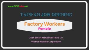 job-hiring-taiwan-factory-worker