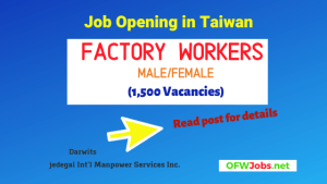 Taiwan-factory-workers-job-opening