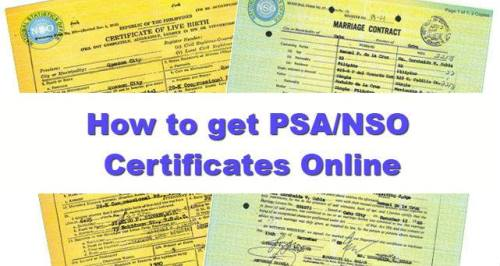 How To Apply For Psa Certificates Online Birth Marriage Death