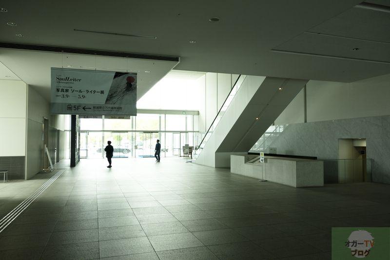 【新潟県立万代島美術館】ソール・ライター展を観に行った。