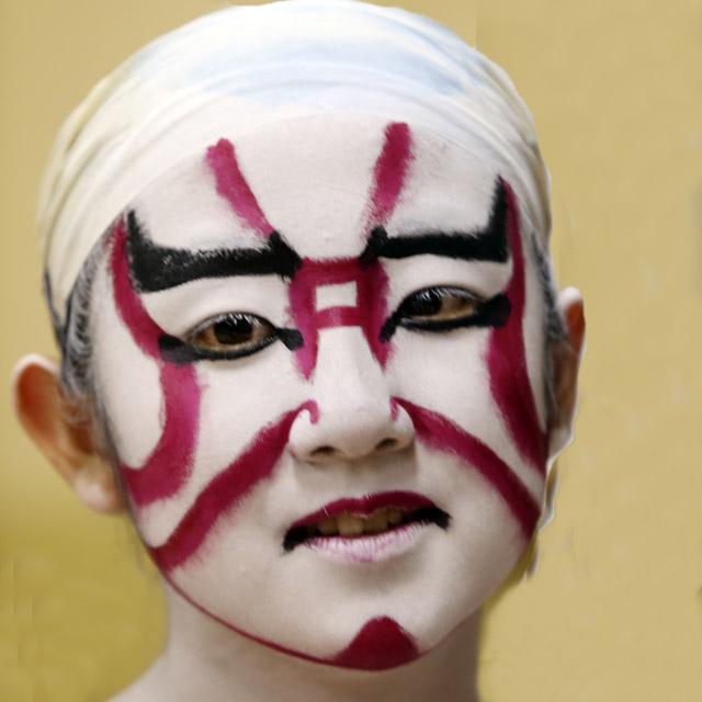 歌舞伎の隈取