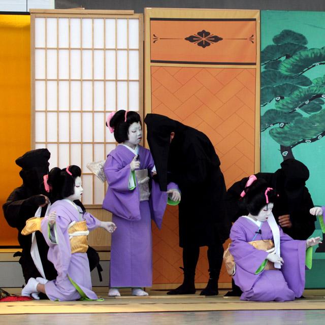 歌舞伎の黒子