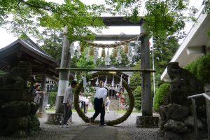 茅の輪くぐり 小鹿野 小鹿神社