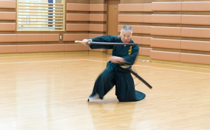 Sekiguti Komey - iaido