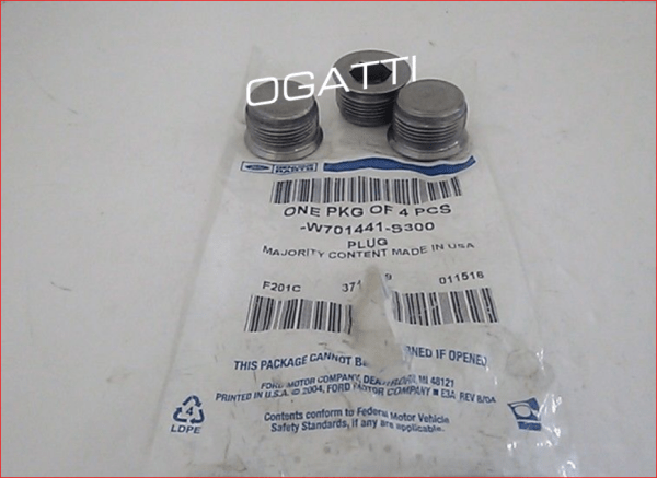 Brand New OEM PLUG – WATER JACKET W701441-S300 |W701441|