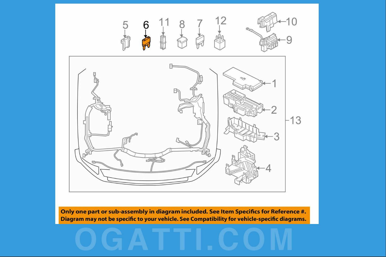 Brand New OEM CIRCUIT BREAKER ASY F58Z-14526-B  14526 