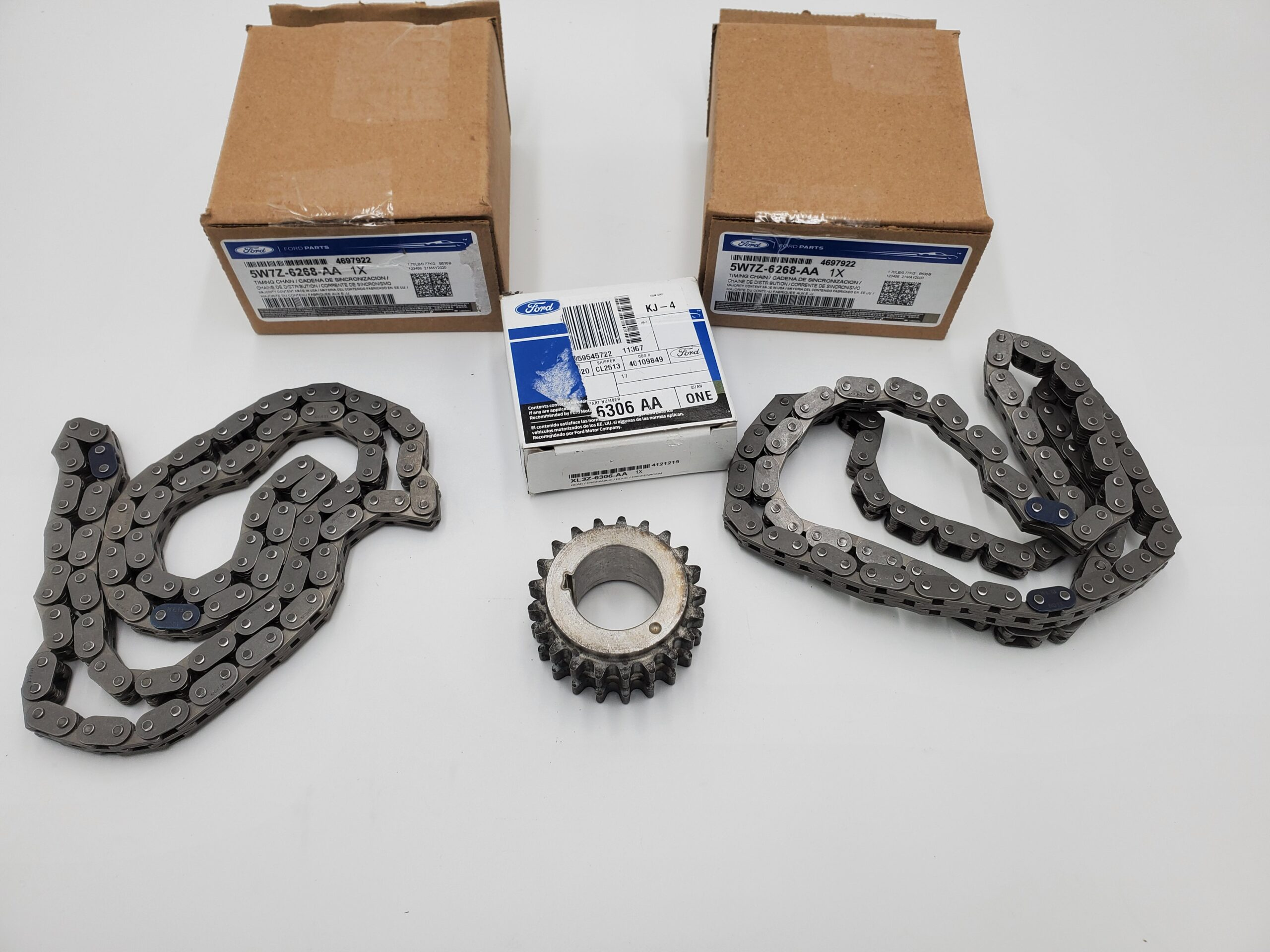 Brand New OEM Chain – Timing and Gear – Crankshaft 5.4 L V8, 3 Pieces Engine Repair Kit (OG-60-5.4L-3-2)