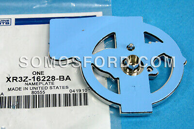 Brand New OEM NAME PLATE XR3Z-16228-BA |16228|