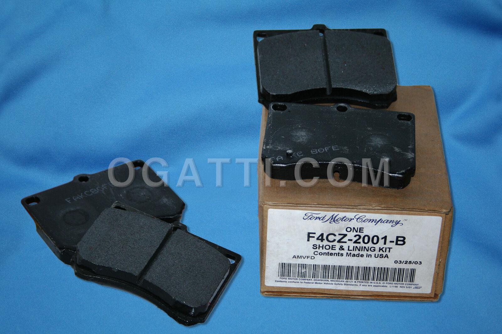 Brand New OEM PAD 1U2Z-2V001-NA |2V001|