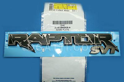 Brand New OEM NAME PLATE AL3Z-9942528-A  9942528 