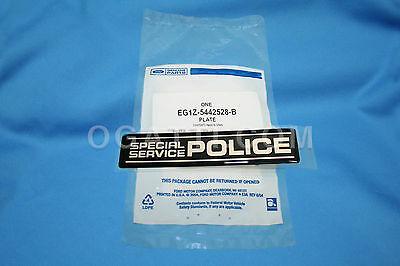Brand New OEM NAME PLATE EG1Z-5442528-B |5442528|
