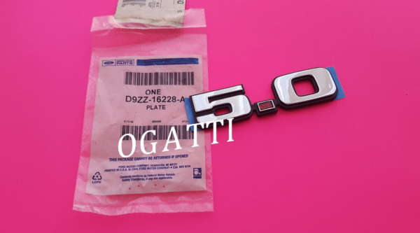 Brand New OEM NAME PLATE D9ZZ-16228-A |16228|