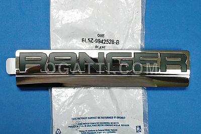 Brand New OEM NAME PLATE 6L5Z-9942528-B |9942528|