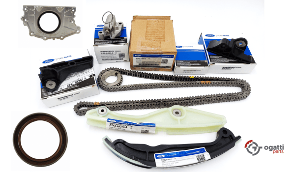 Brand New OEM Timing Chain Kit 3.5L DOHC VCT, 9 Pieces, Engine Repair Kit (OG-60-3.5L-9-3)