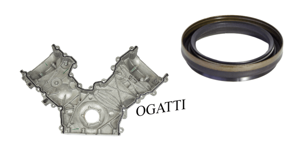 Brand New OEM Front Timing Cover and Seal | 6.2L V8 2V DOHC, 2 Pieces, Engine Repair Kit (OG-60-6.2L-2-4)