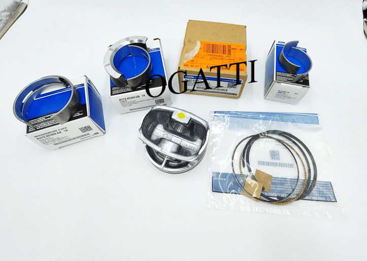 Brand New OEM Kit Piston, O'Rings, Main Bearings, Connecting Rod 6.2L V8 2V DOHC, 37 Pieces, Engine Repair Kit (OG-60-6.2L-37)