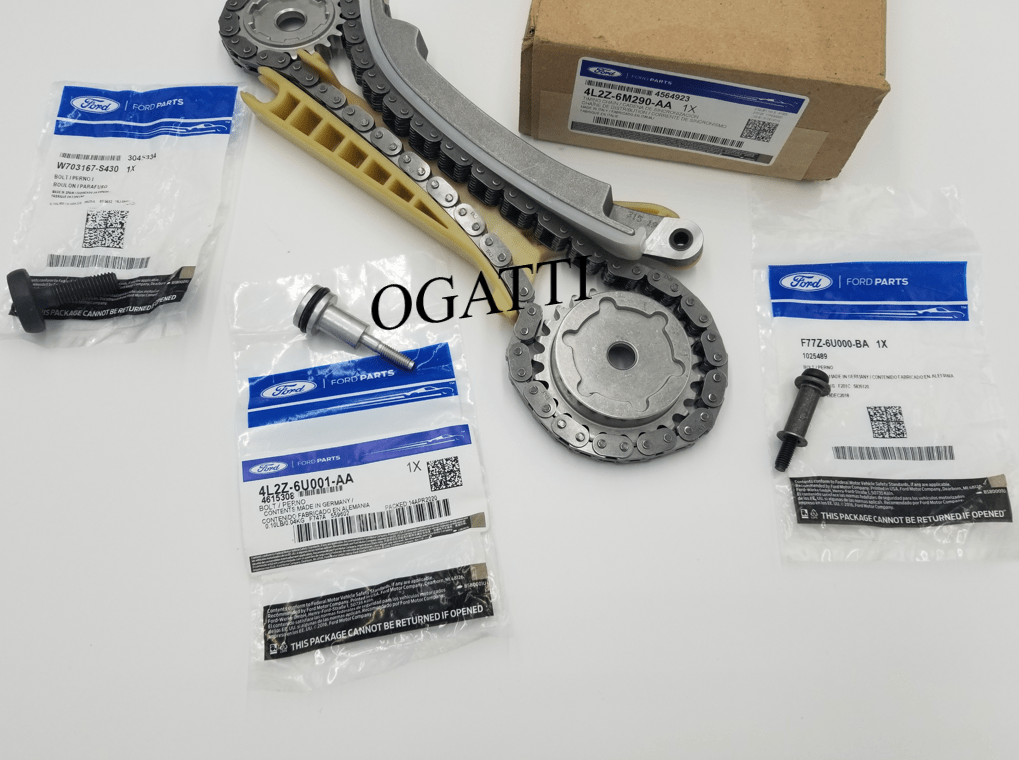 Brand New OEM Cassette Timing Chain Rear RH with Bolts 4.0L, 4 Pieces Engine Repair Kit (OG-60-4.0L-4-4)