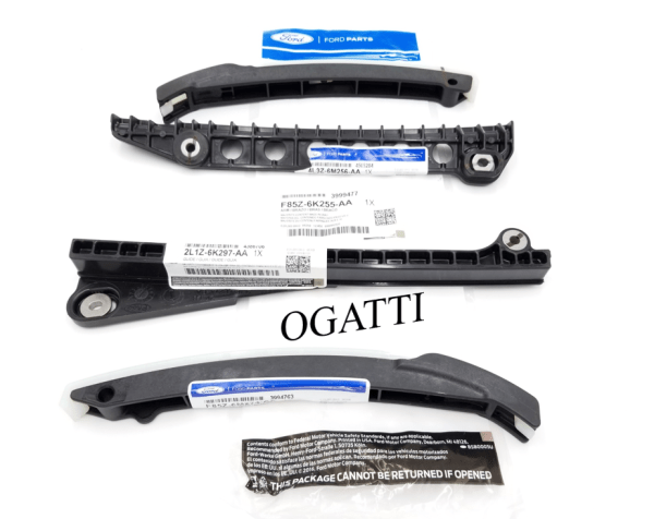 Brand New OEM Timing Chain Guides 6.8L V10, 4 Pieces, Engine Repair Kit (OG-60-6.8L-4-1)