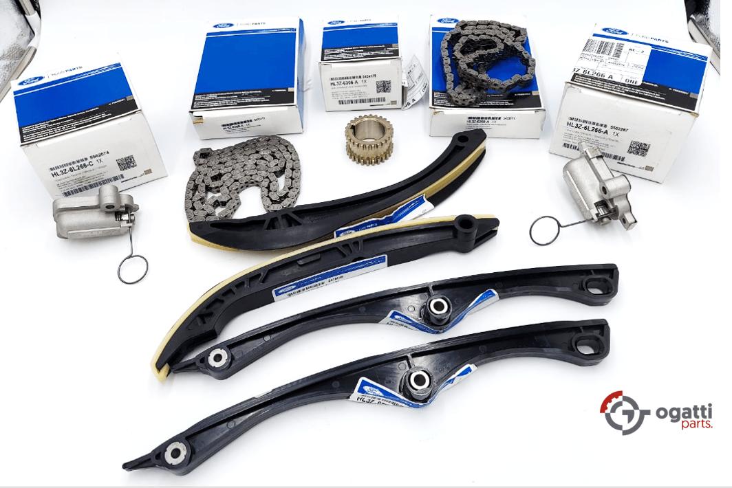 Brand New OEM Timing Chain  Kit 3.5L DOHC TURBO, 9 Pieces, Engine Repair Kit (OG-60-3.5LT-9-1)