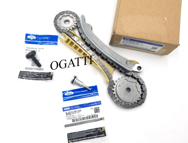 Brand New OEM Cassette Timing Chain Rear RH with Bolts 4.0 L, 3 Pieces Engine Repair Kit (OG-60-4.0L-3-1)