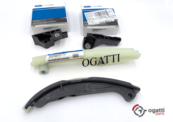 Brand New OEM Timing Chain Guides Kit 3.5L DOHC VCT, 4 Pieces, Engine Repair Kit (OG-60-3.5L-4-2)
