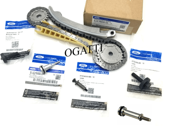 Brand New OEM Cassette Timing Chain and Bolts 4.0L, 6 Pieces Engine Repair Kit (OG-60-4.0L-6-2)