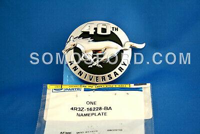 Brand New OEM NAME PLATE 4R3Z-16228-BA |16228|