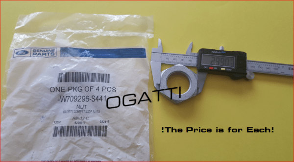 Brand New OEM NUT W709296-S441  -C W7092 