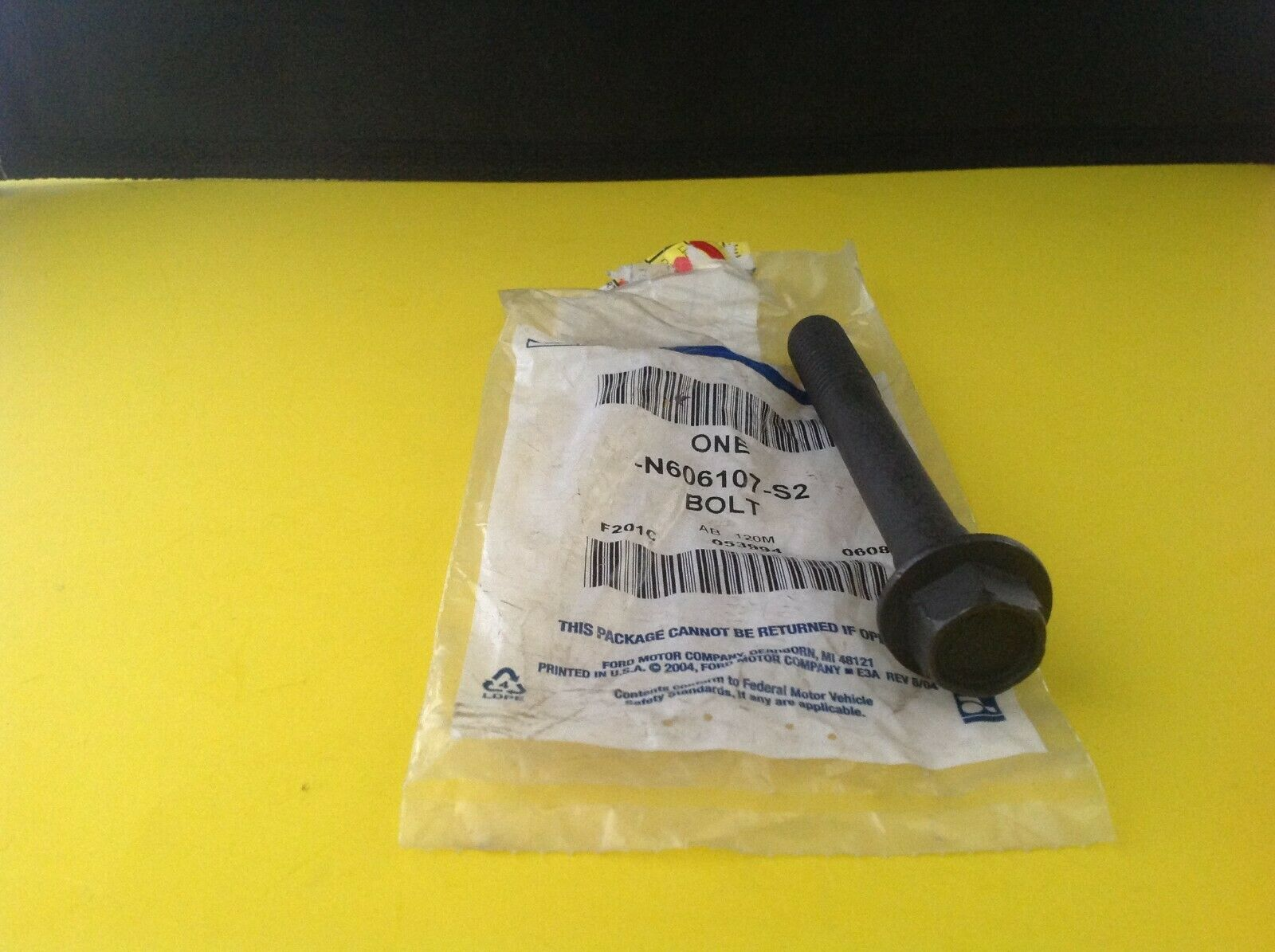 Brand New OEM BOLT-M14 X 2 X 110 HEX FLG HD N606107-S2 |M  N6061|