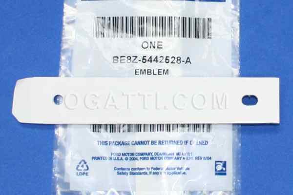 Brand New OEM EMBLEM BE8Z-5442528-A  5442528 
