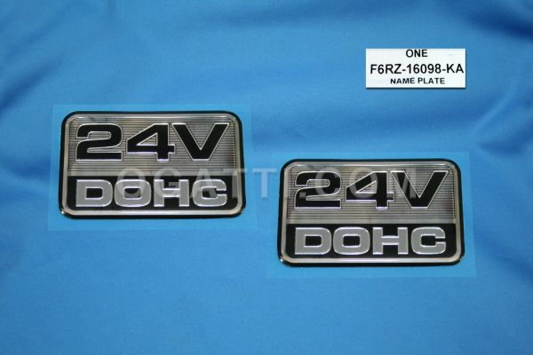Brand New OEM NAME PLATE F6RZ-16098-KA |16098|