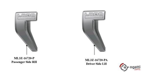 Brand New OEM NAME PLATE F-150 LOBO Limited Version 2021 KIT RH-LH (OG-F150-2020-2-14)