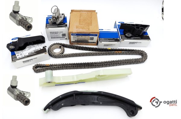 Brand New OEM Timing Chain Kit 3.5L DOHC VCT, 9 Pieces, Engine Repair Kit (OG-60-3.5L-9-2)