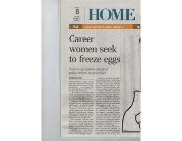Career women seek to freeze eggs | The O&G Specialist Clinic