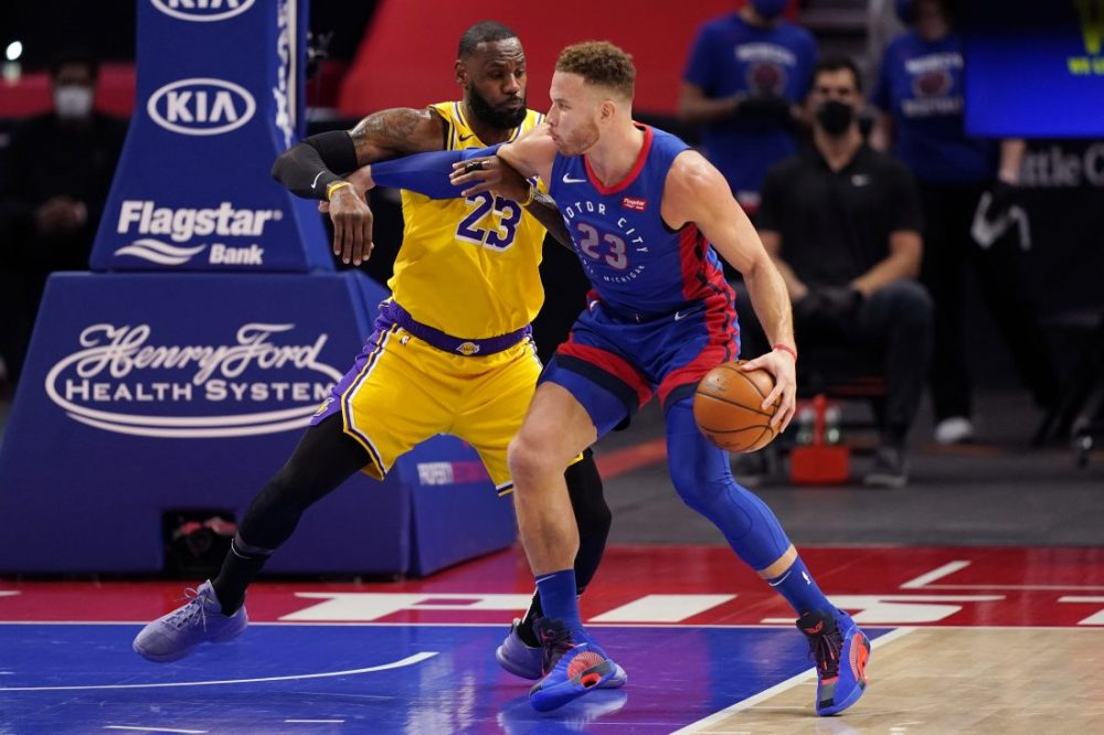 Pistons roll past Lakers, 107-92 | News, Sports, Jobs - The Daily news