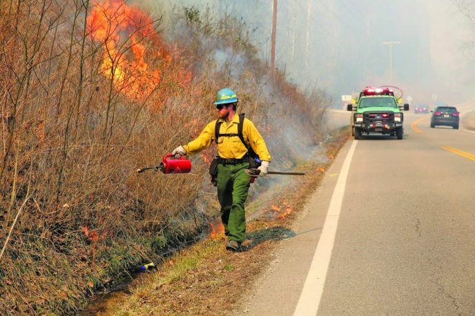 Ohio's open burn ban begins (image)