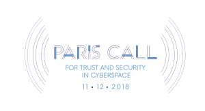 Paris Call of 12 November 2018 for Trust and Security in Cyberspace