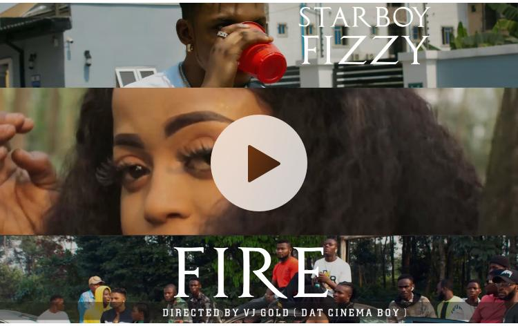 Audio+Video: Starboy Fizzy – Fire (Prod. by Id Cleff)