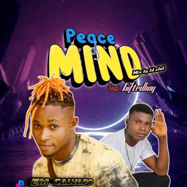 Em Calvado ft Giftedboy - Peace of Mind
