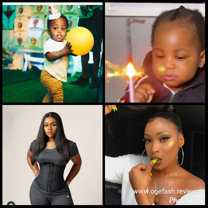 "Who go solve the matter; Larissa child ""Dawson"" resemble Davido!"
