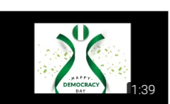 Happy Democracy Day Nigeria; we are really cra…