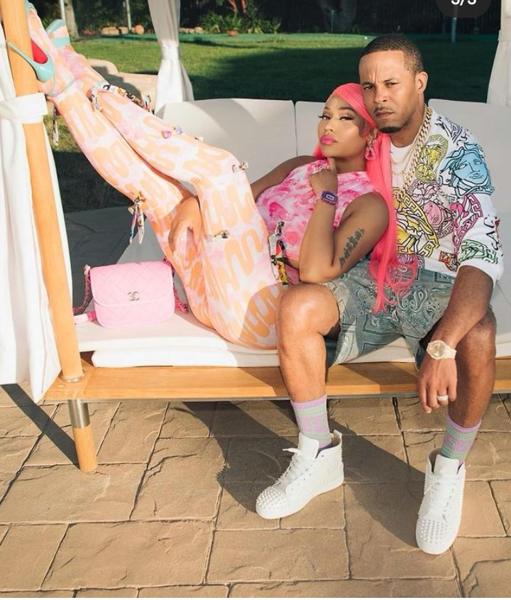 Nicki Minaj shares new pictures of her son, husband, and the entire family. View here-