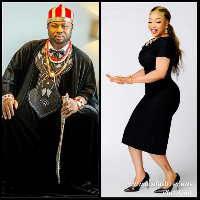 Tonto Dikeh's ex husband, Olakunle Churchill caught watching Tonto Dikeh and Dbanj's birthday worship with gospel singer, Moses Bliss after he mistakenly….